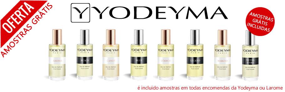 Amostras Grátis Perfumes Yodeyma